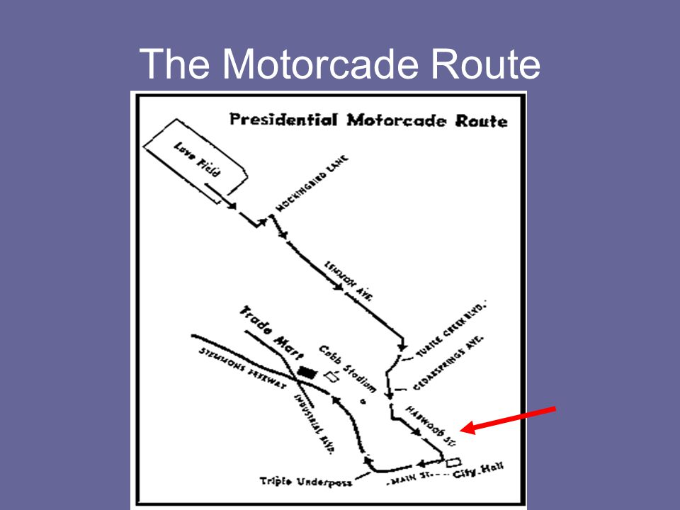 The Motorcade Route