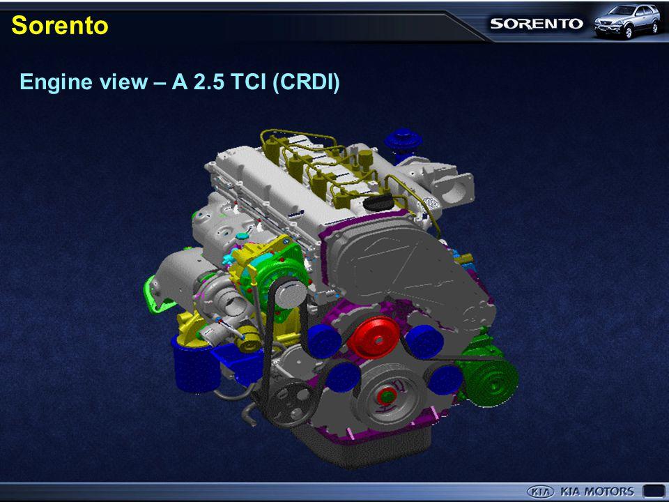 Engine view – Sirius- Ⅱ (2.4ℓ) Sorento