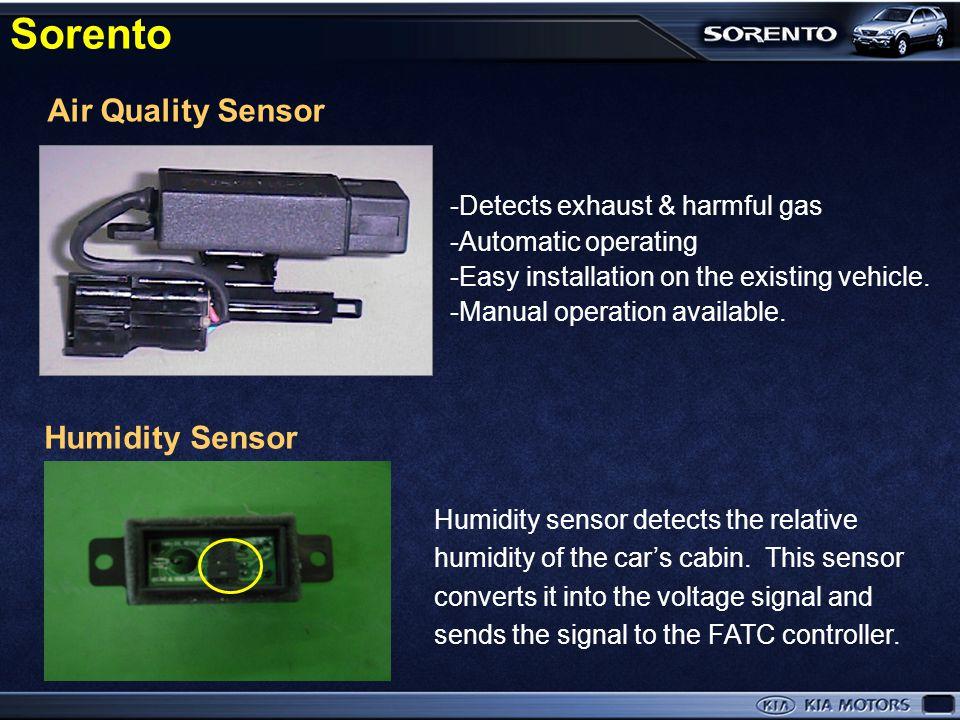Air-conditioning System ■ Manual Air conditioner ■ Auto Air conditioner (FATC) Sorento