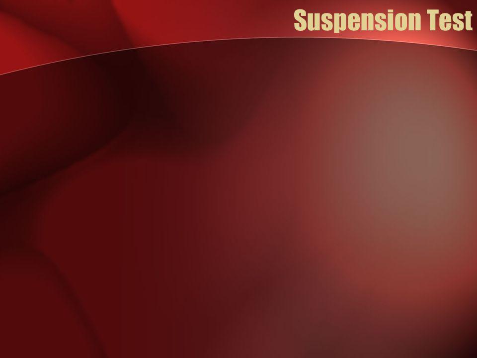 Suspension Test