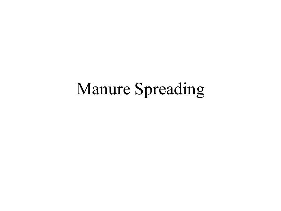 Manure Spreading