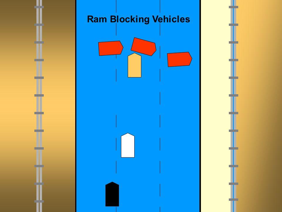 Ram Blocking Vehicles