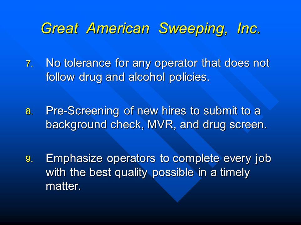 Great American Sweeping, Inc.10.