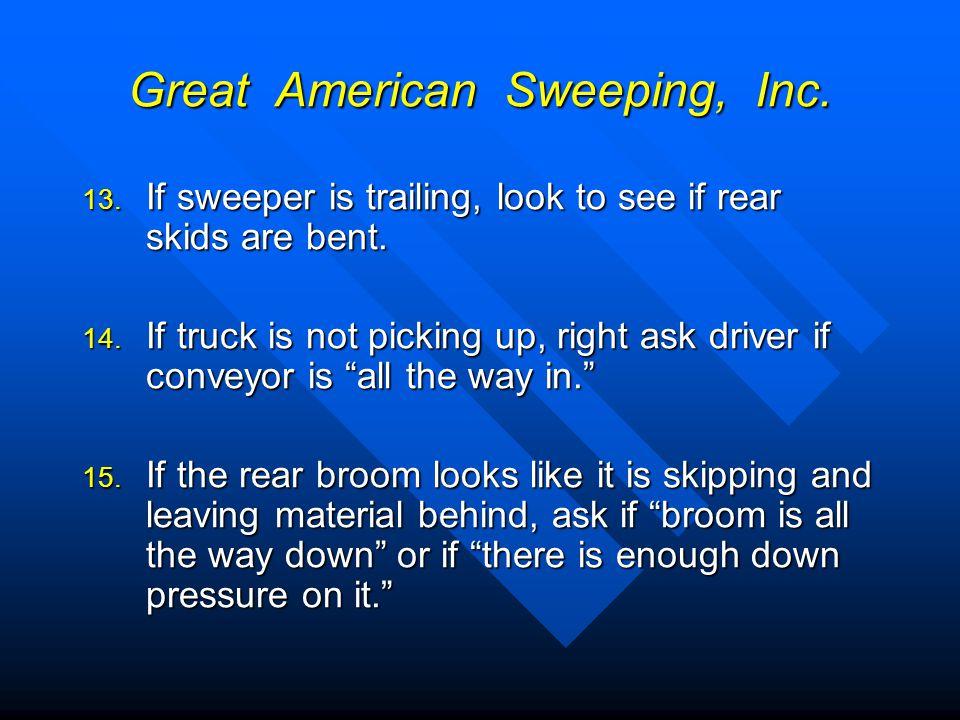 Great American Sweeping, Inc.16.