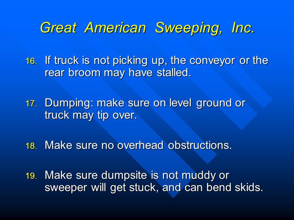 Great American Sweeping, Inc.20.