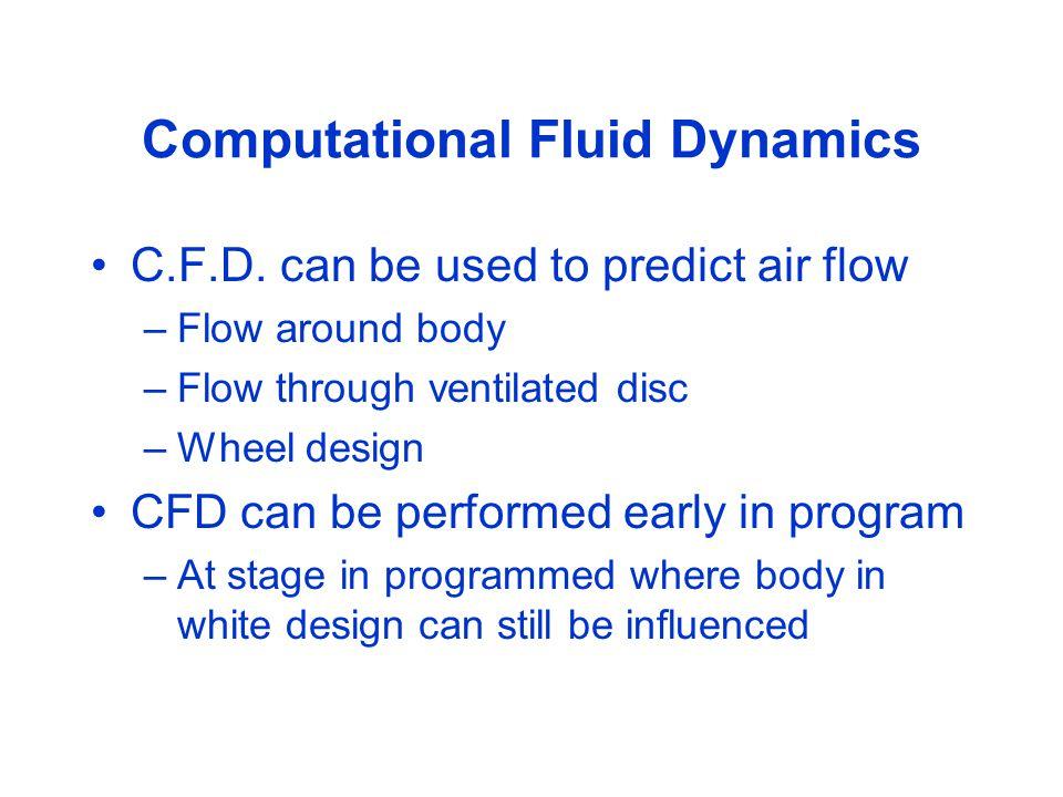 Computational Fluid Dynamics C.F.D.