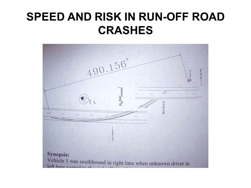 ESTIMATING SPEEDS IN RUN-OFF ROAD CRASHES Yawmarks.