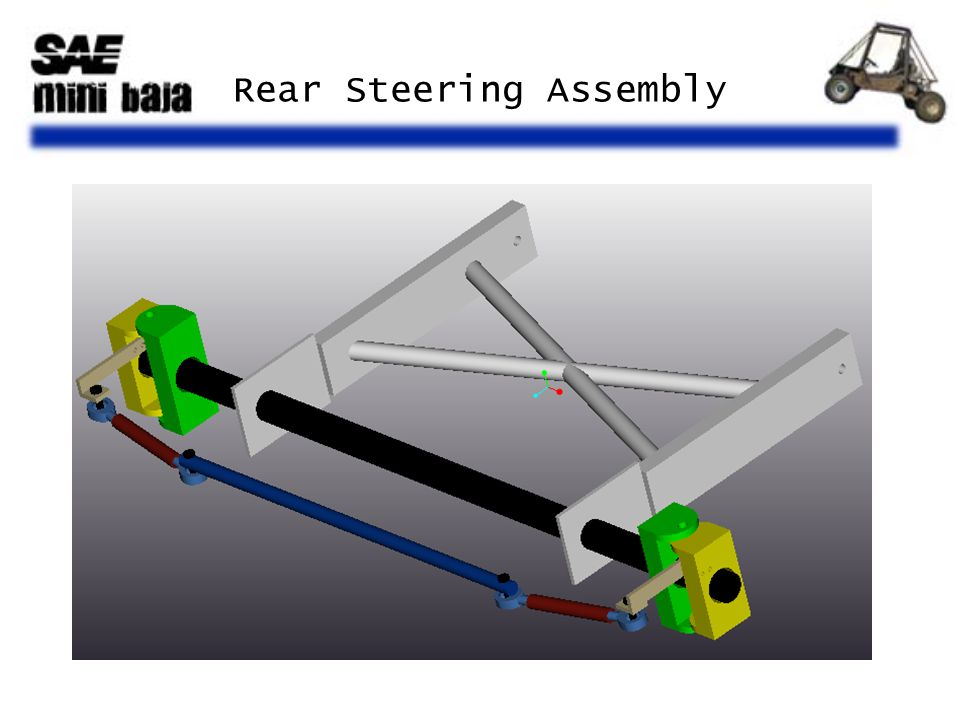 Rear Steering Assembly