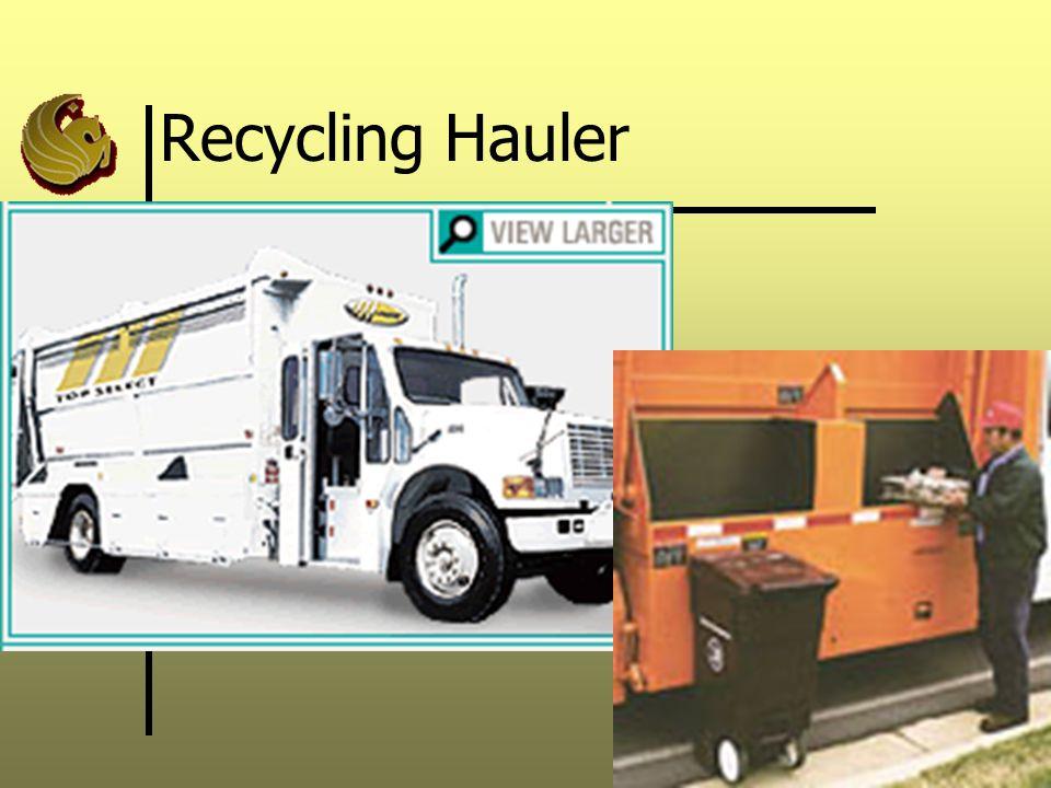 Recycling Hauler