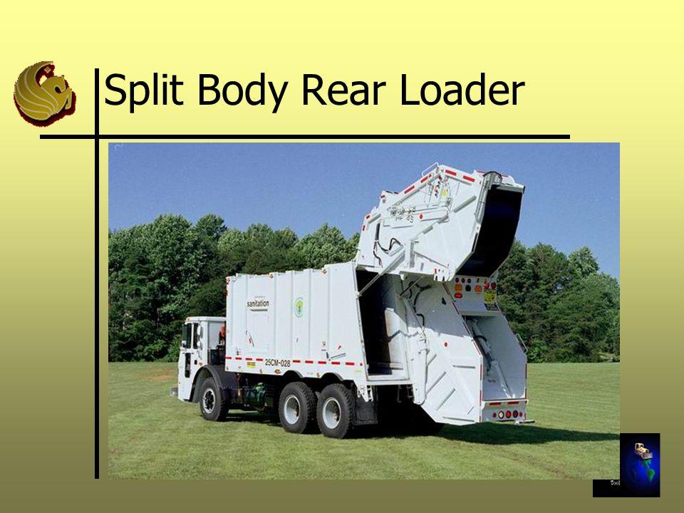 Split Body Rear Loader