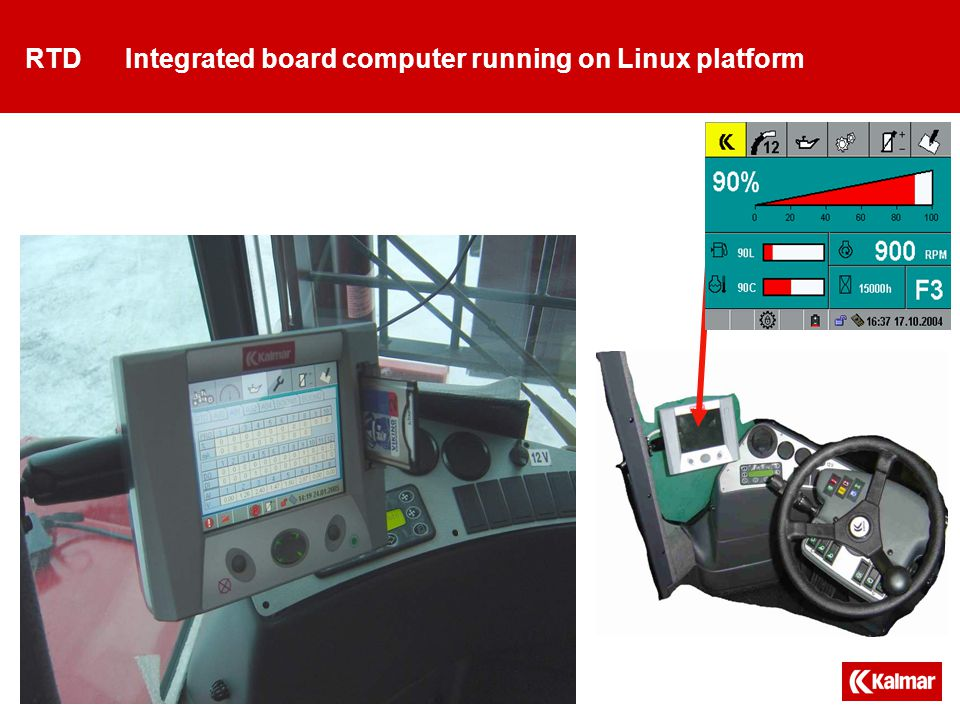 RTD Display page samples Sample screens. There are more pages available on actual machine
