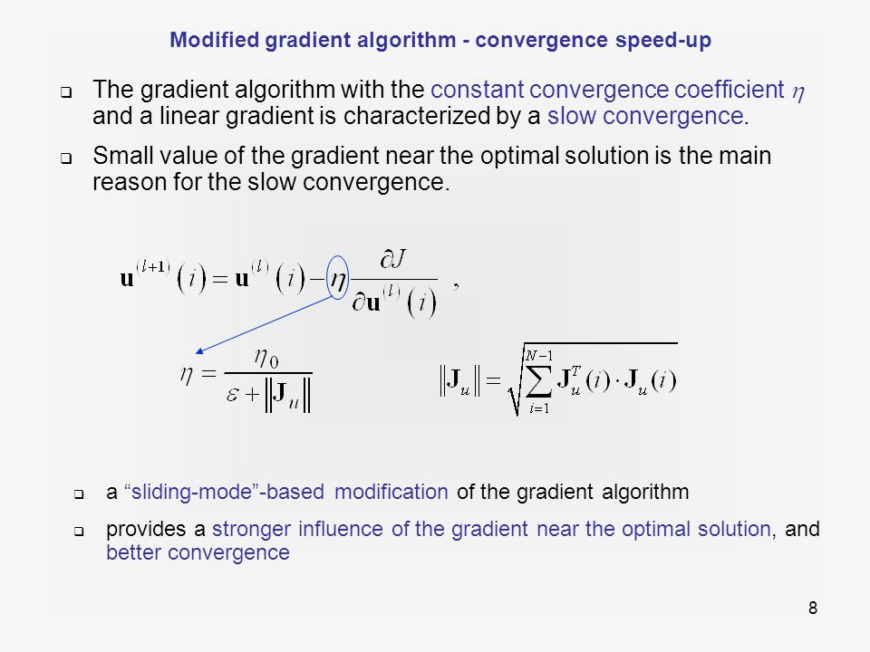 19  Optimization results for ALSD control and  = 0.6