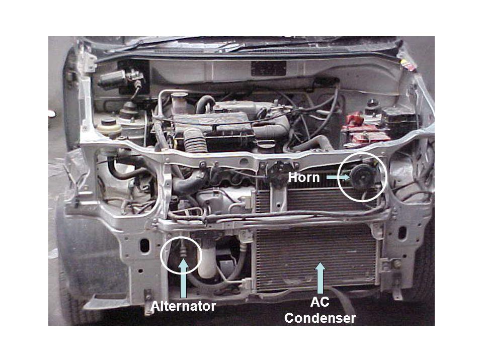 Alternator AC Condenser Horn