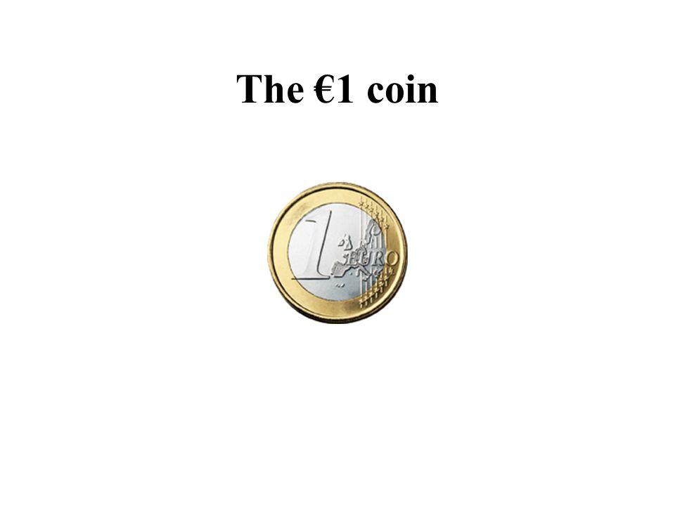The €1 coin