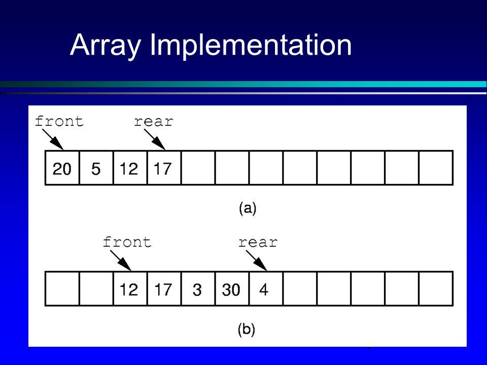 9 Array Implementation