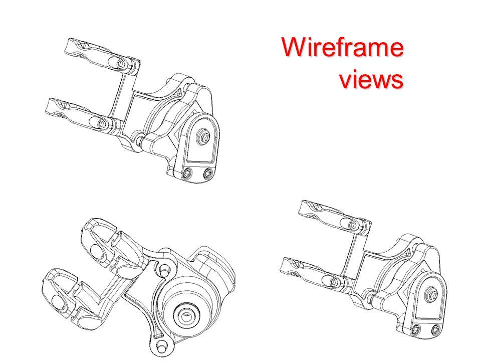 Wireframe views