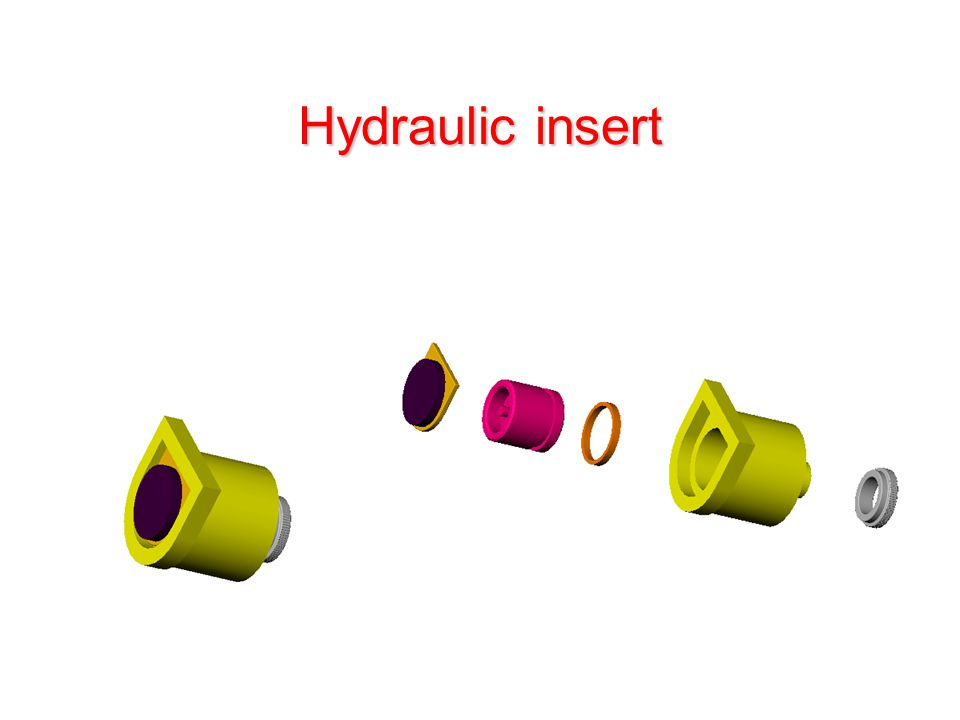 Hydraulic insert
