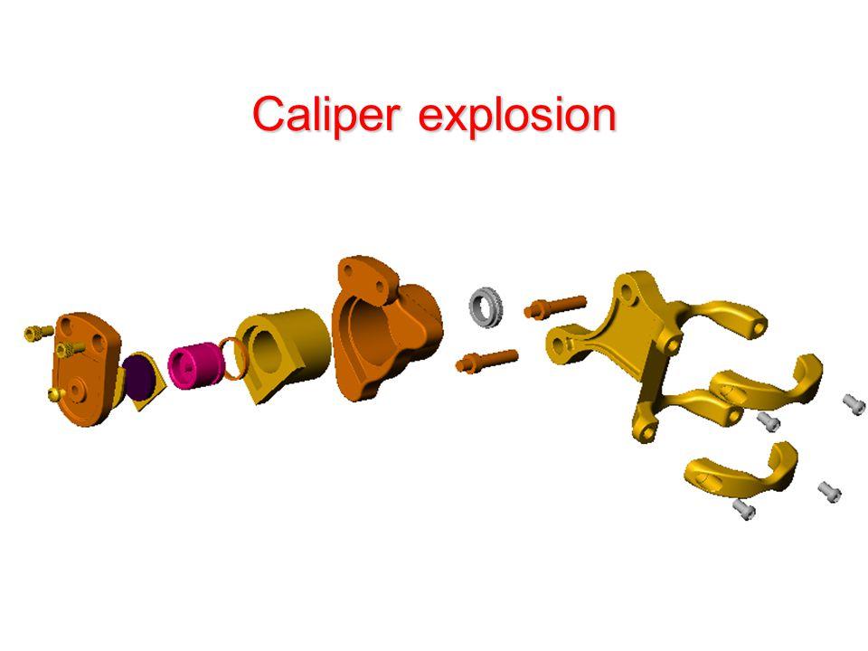 Caliper explosion