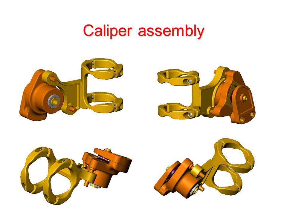 Caliper assembly