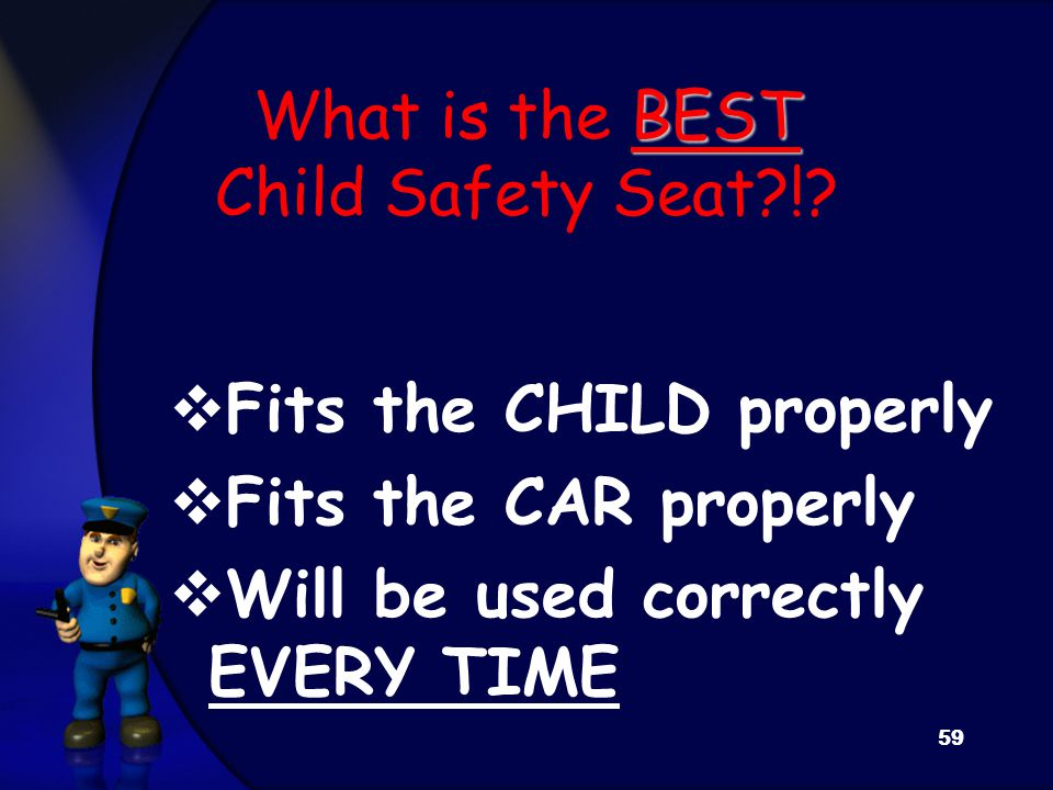 BEST What is the BEST Child Safety Seat !.