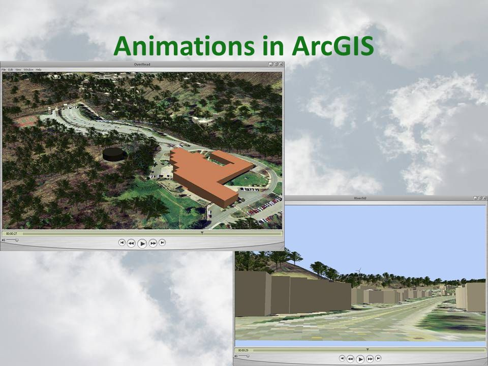 Animations in ArcGIS