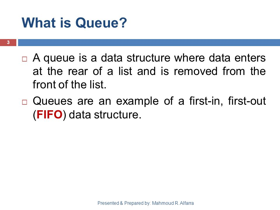 What is Queue.