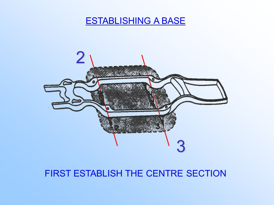 MANUFACTURERS USE CONTROL POINTS FOR POSITIONING OF STRUCTURE DURING MANUFACTURE TECHNICIANS USE THEM AS GUIDES DURING THE REPAIR PROCESS COMMON REFERENCE AREAS: - HOLES - BOLTS - STUDS - SUSPENSION MOUNTING POINTS - RIVETS