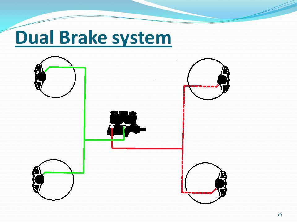 Dual Brake system 16