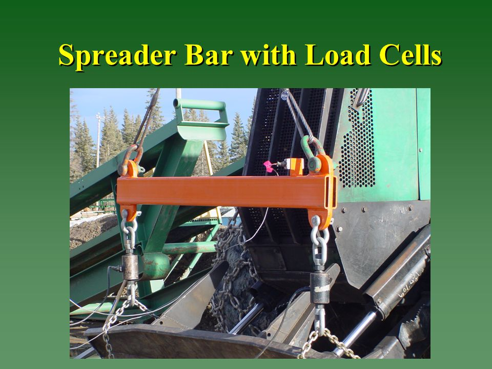 Spreader Bar with Load Cells