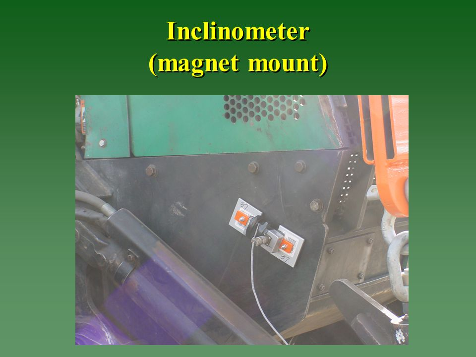 Inclinometer (magnet mount)