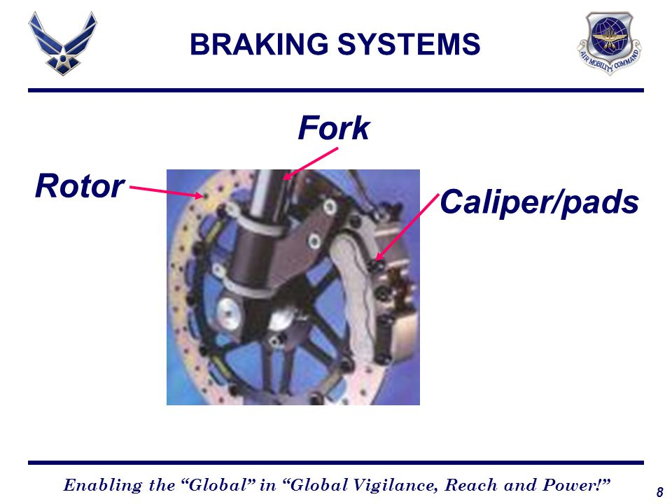 9 Enabling the Global in Global Vigilance, Reach and Power! BRAKING SYSTEMS Drum brakes Same as disc until brake cylinder Press shoe into drum Creates friction and heat