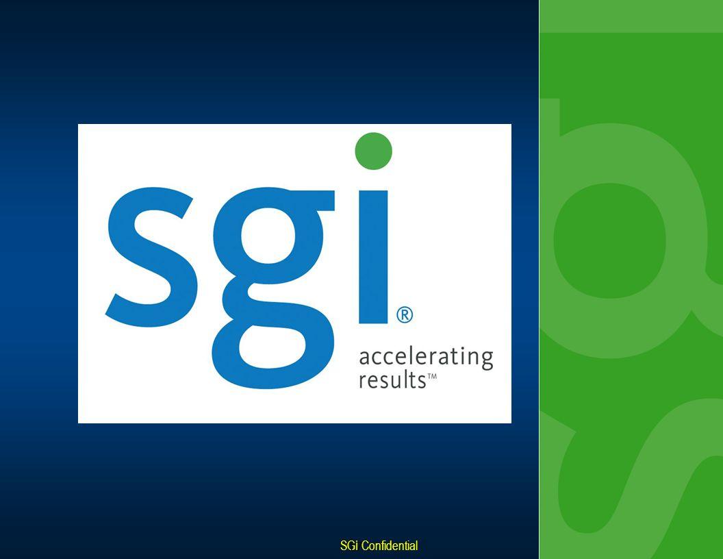 SGI Confidential 8 - 17 17