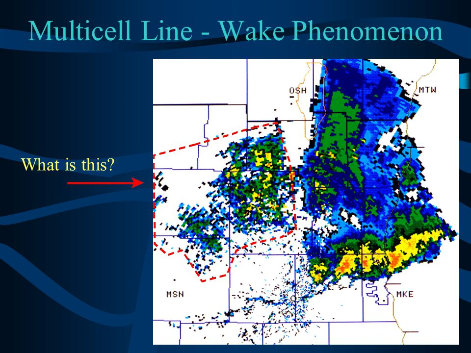 Multicell Line - Wake Phenomenon What is this?