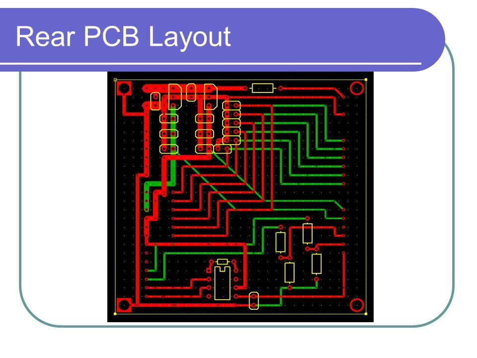 Rear PCB Layout