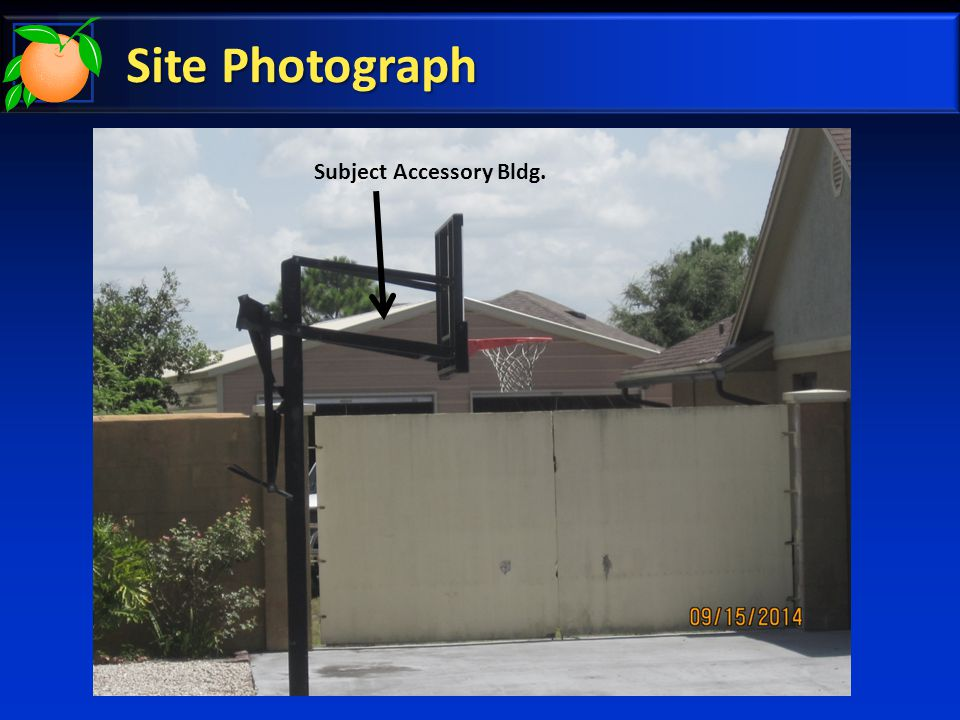 Site Photograph Subject Accessory Bldg.