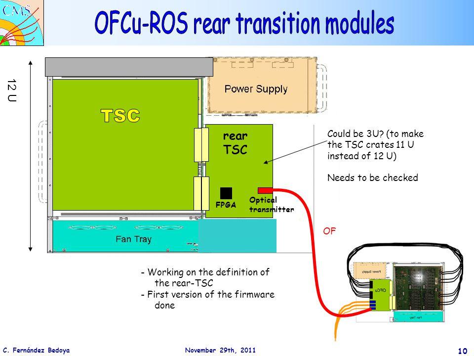 C.Fernández Bedoya November 29th, 2011 10 12 U rear TSC Could be 3U.