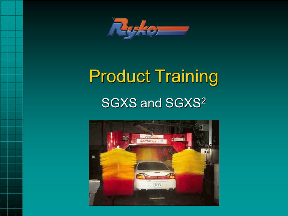 Product Training SGXS and SGXS 2
