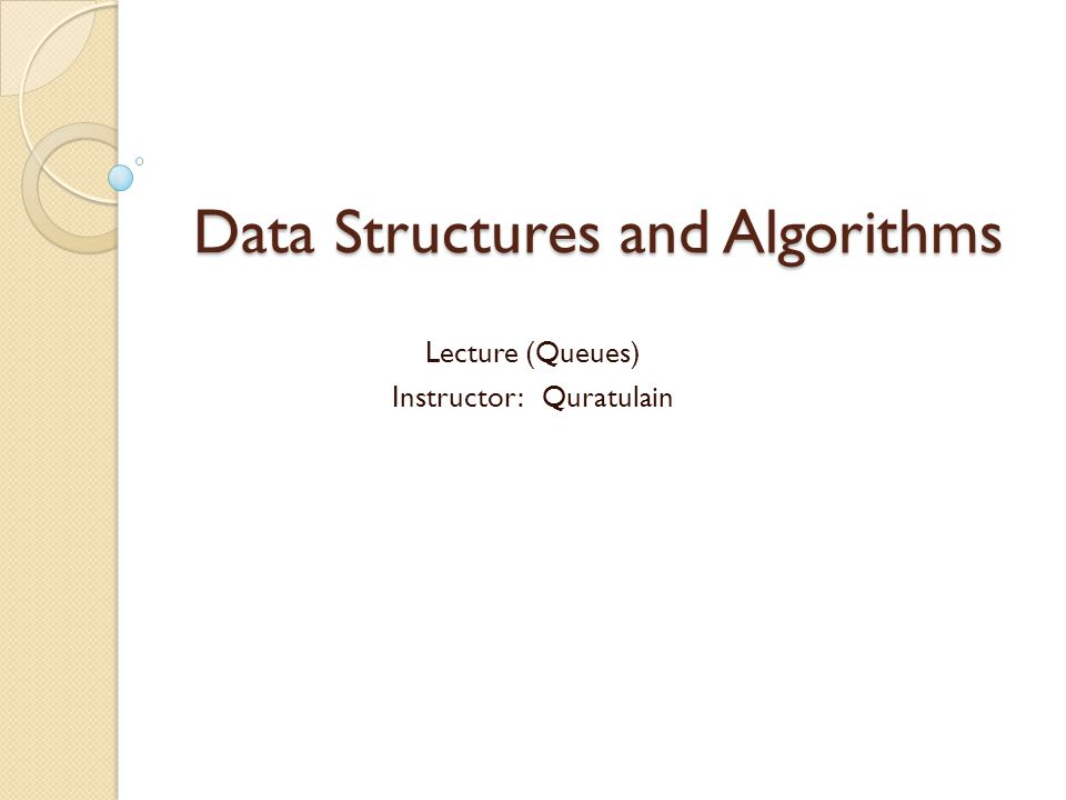 introduction A queue is a first-in-first-out (FIFO) sequential data structure in which elements are added (enqueued) at one end (the back) and elements are removed (dequeued) at the other end (the front).