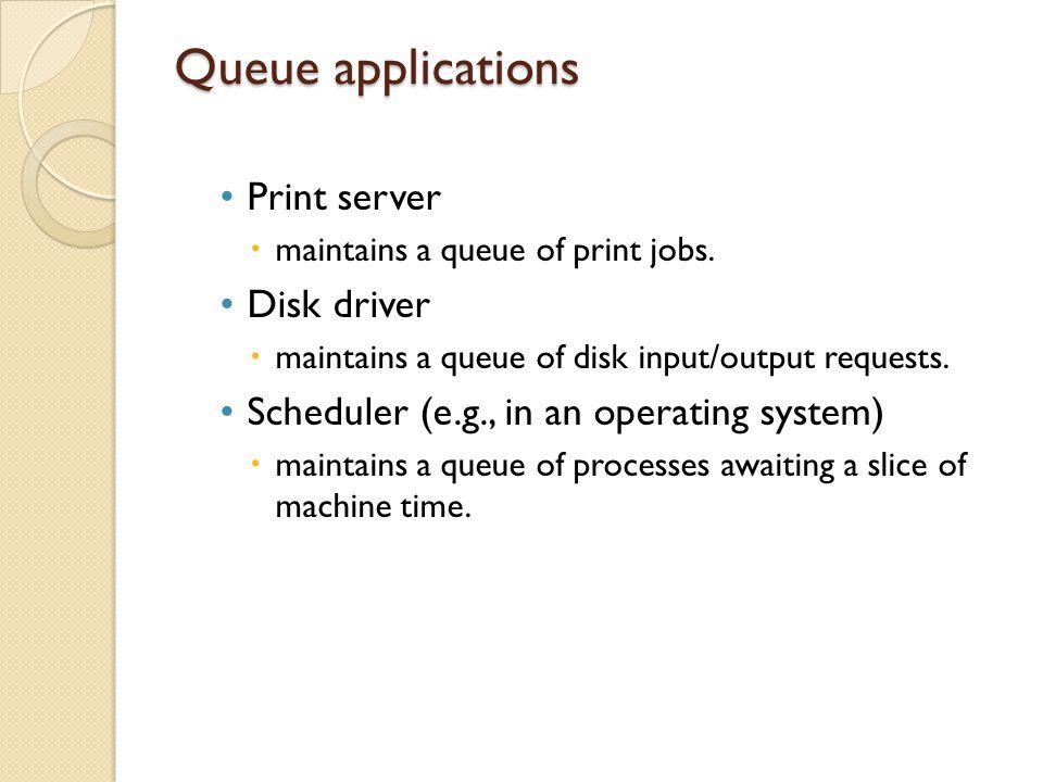 Remove operation If (empty(queue) { Print( underflow); exit; } If (queue_of_front == max-1) queue_of_front =0; Else (queue_of_front)++; Return (queue_items[queue_of_front]);