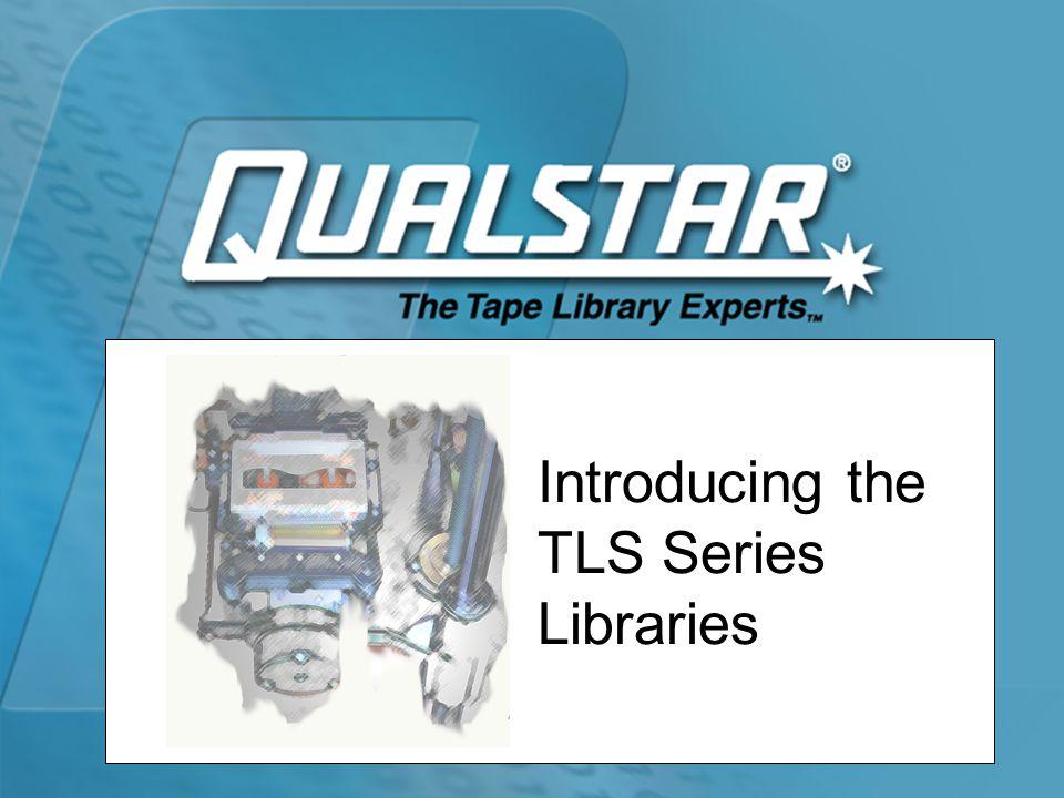 TLS Cabling Options 412XXX TLS-412XXX 2X6 (4X3) Library Rear Panel 1 Robot 2 3 4 External Bridge Cable 5 6 Rear Panel 7 Robot 8 9 10 External Bridge Cable 11 12 TLS-412XXX 12X1 Library Rear Panel 1 Robot 2 3 4 5 6 Rear Panel 7 Robot 8 9 10 11 12 TLS-412XXX 6X2 Library Rear Panel 1 Robot 2 3 4 5 6 Rear Panel 7 Robot 8 9 10 11 12