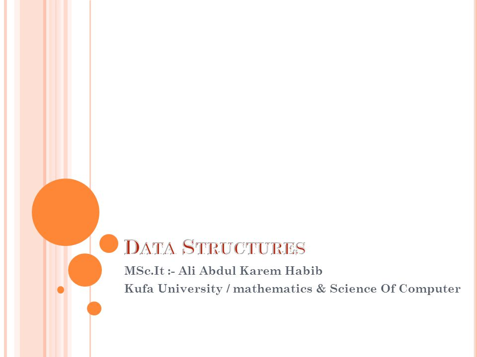 MSc.It :- Ali Abdul Karem Habib Kufa University / mathematics & Science Of Computer