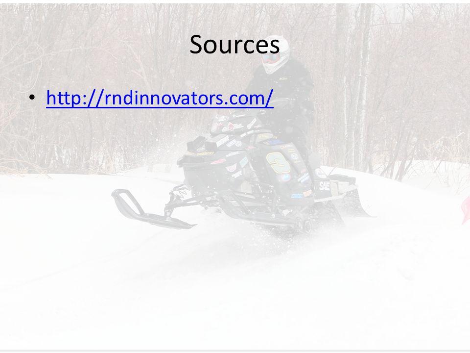Sources http://rndinnovators.com/