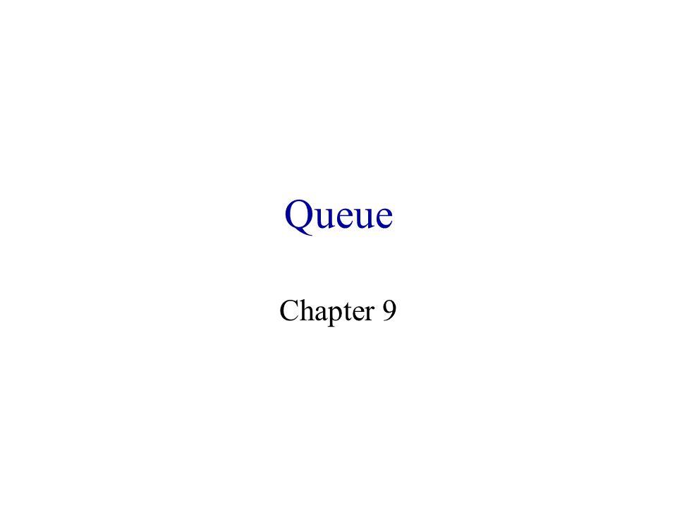 Queue Chapter 9
