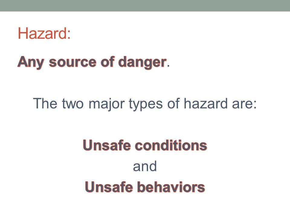 Hazard: