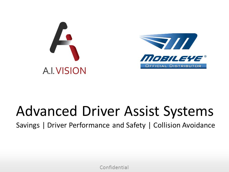 Confidential Advanced Driver Assist Systems Savings | Driver Performance and Safety | Collision Avoidance