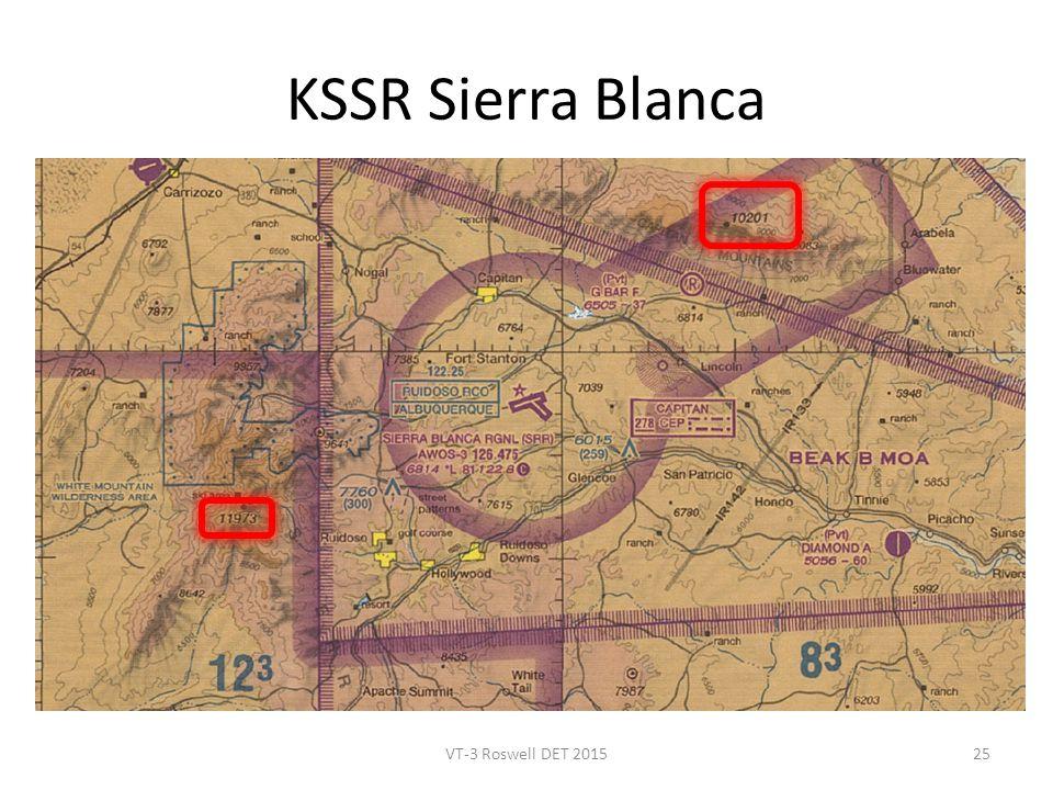 KSSR Sierra Blanca VT-3 Roswell DET 201525