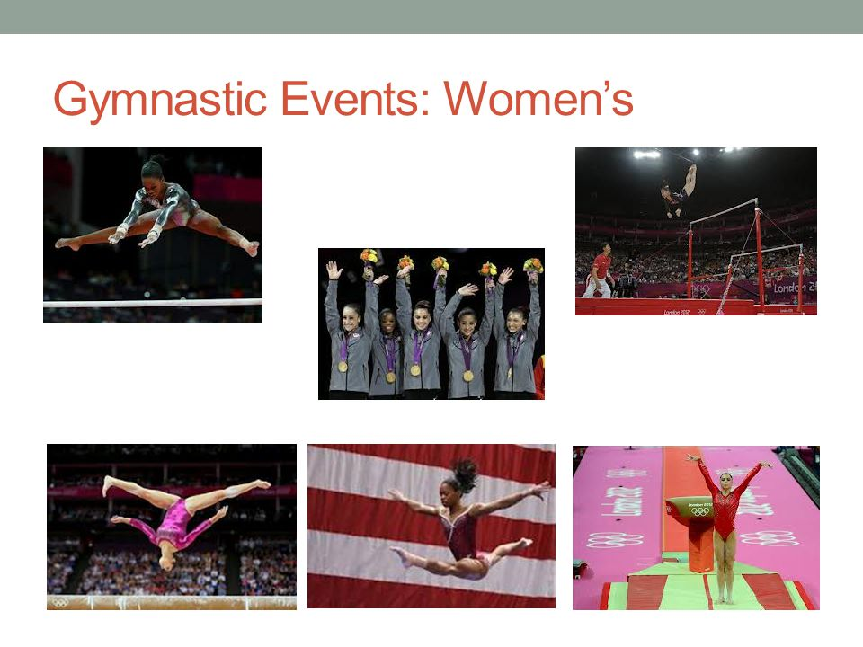 Gymnastic Events: Women's