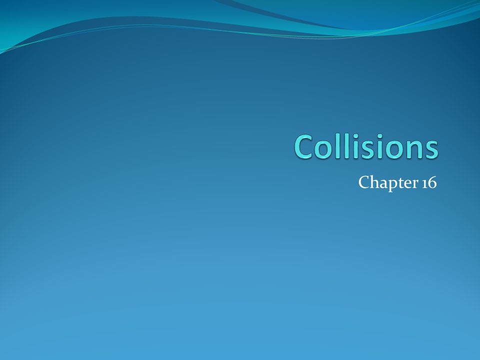 16-1 Collisions Everyone pays in a collision Direct Costs Medical care Legal fees Funeral costs.