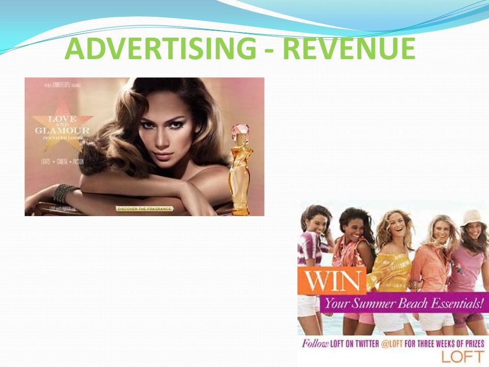 ADVERTISING - REVENUE