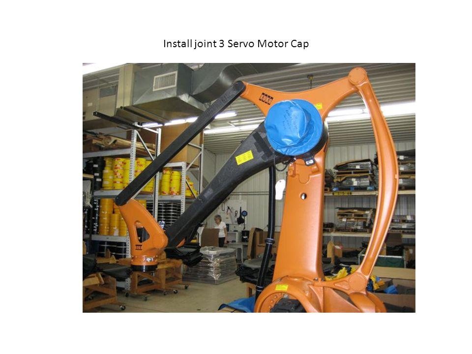 Install joint 3 Servo Motor Cap